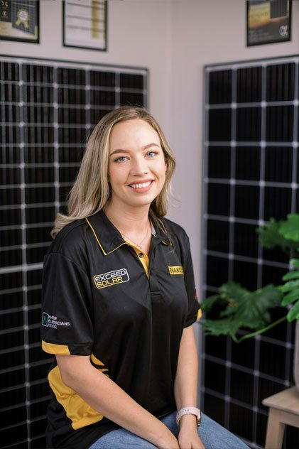 Jamie Evans - Administration | Exceed Solar