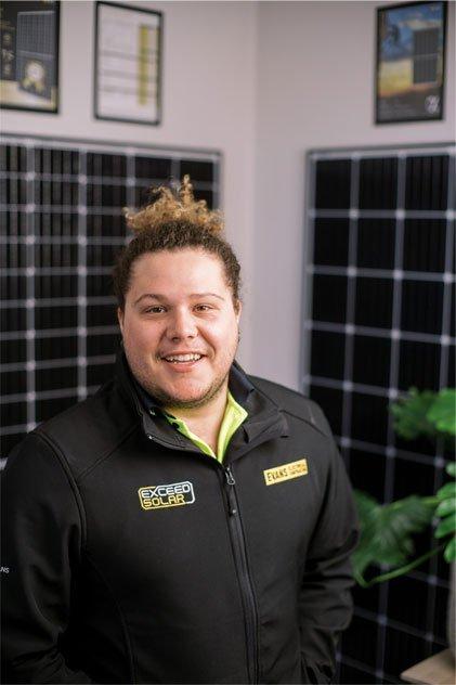 Mishka Benattar - Apprentice Electrician | Exceed Solar